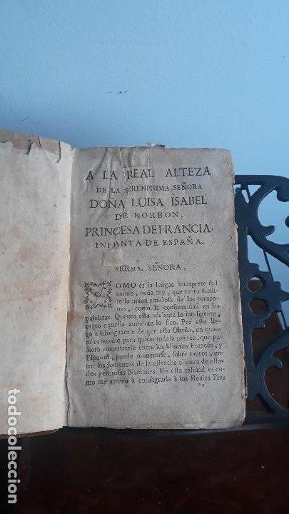 Libros antiguos: llave nueva y universal para aprender con brevedad y perfeccion la lengua francesa 1753 - Foto 4 - 204759616