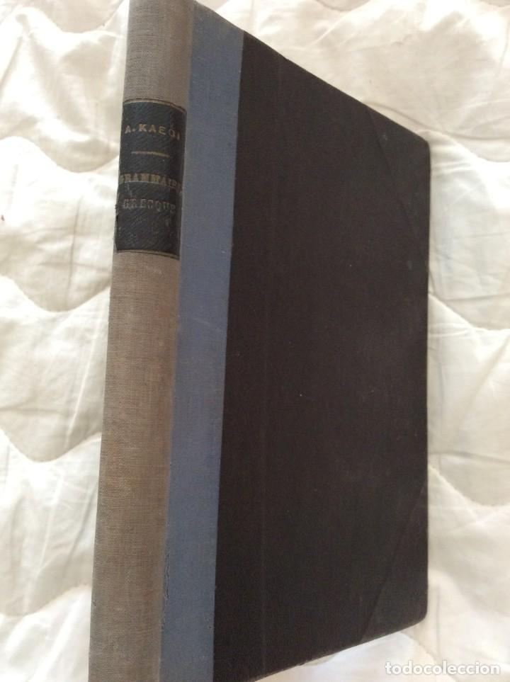 Libros antiguos: Grammaire abrégée de la langue grecque, por Adolphe kaegi, 1907, 3.ª edición. - Foto 2 - 205391901