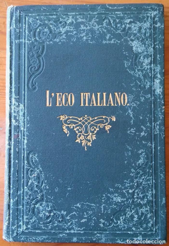 Libros antiguos: Leco italiano. London, 1890. Raro manual de conversación italiano - Foto 2 - 208318501