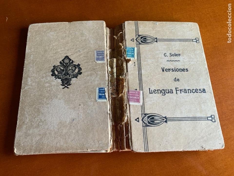 Libros antiguos: VERSIONES DE LENGUA FRANCESA C.SOLER. SEGUNDA PARTE. 1895 - Foto 2 - 208414652