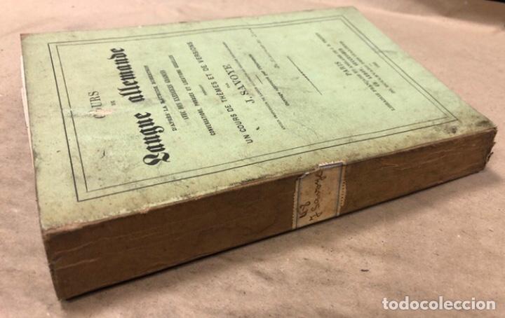 Libros antiguos: COURS DE LANGUE ALLEMNADE. PAR J. SAVOYE. LIBRAIRE POUR LES LANGUES ÉTRANGÉRES 1873. - Foto 10 - 209071991