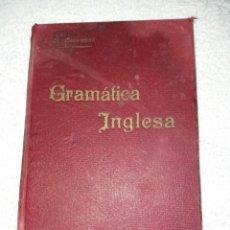 Libros antiguos: POCO FRECUENTE GRAMÁTICA INGLESA DEL AÑO 1896. Lote 209294596