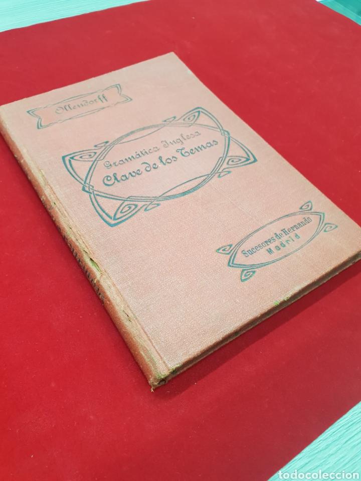 Libros antiguos: ANTIGUO LIBRO 1918 GRAMATICA INGLESA - Foto 4 - 212010300