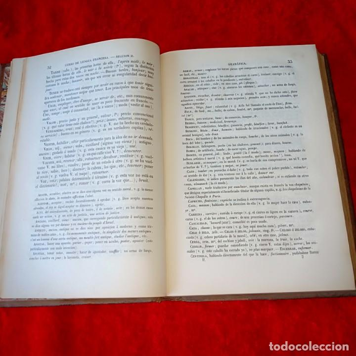 Libros antiguos: Curso eclectigo de Lengua Francesa - Foto 3 - 212410683