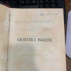 Libros antiguos: LIBRO DE GRAMATICA INGLESA - DR. OLLENDORFF - APRENDER A LEER, HABLAR, ESCRIBIR - CADIZ, 1851.. Lote 214096452