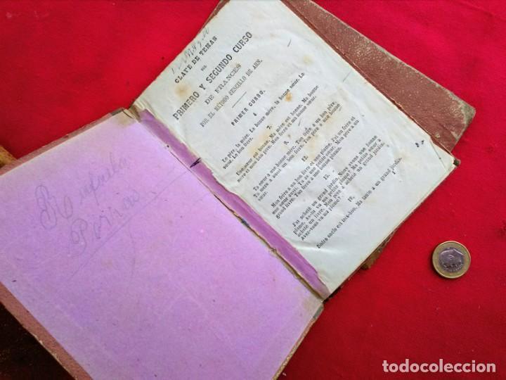 Libros antiguos: Libros antiguos Curso de francés - Foto 9 - 215726223