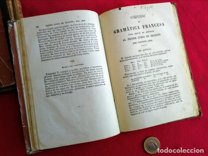 Libros antiguos: Libros antiguos Curso de francés - Foto 13 - 215726223