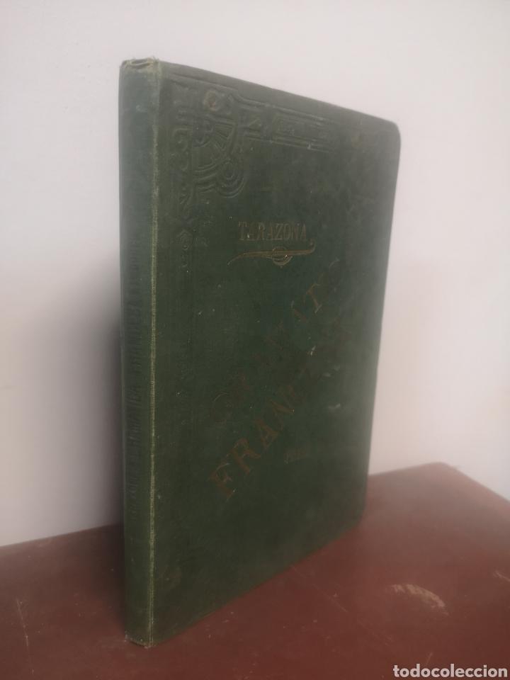 Libros antiguos: GRAMÁTICA FRANCESA. PRIMER CURSO. TARAZONA, G. MANUEL ALUFRE. VALENCIA, 1898. PRIMERA EDICIÓN - Foto 2 - 216796842
