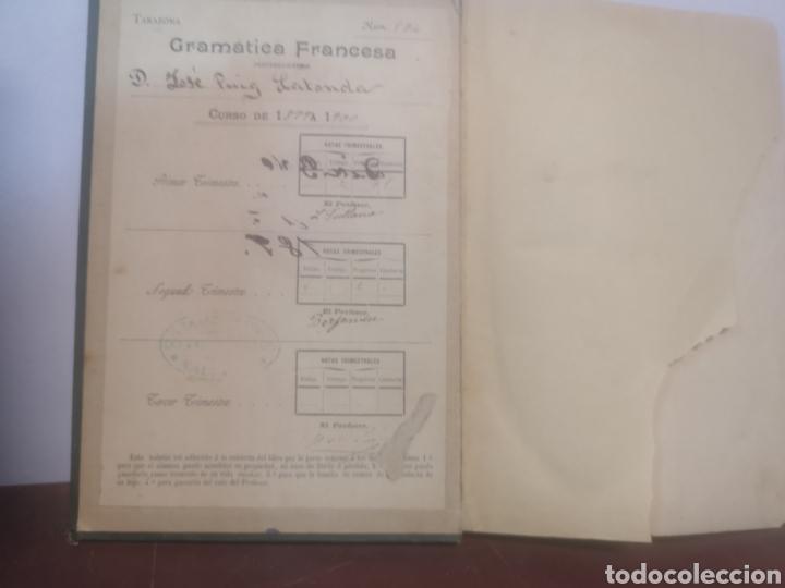 Libros antiguos: GRAMÁTICA FRANCESA. PRIMER CURSO. TARAZONA, G. MANUEL ALUFRE. VALENCIA, 1898. PRIMERA EDICIÓN - Foto 5 - 216796842
