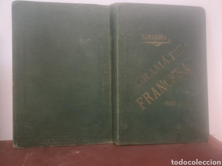 GRAMÁTICA FRANCESA. PRIMER CURSO. TARAZONA, G. MANUEL ALUFRE. VALENCIA, 1898. PRIMERA EDICIÓN (Libros Antiguos, Raros y Curiosos - Cursos de Idiomas)