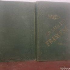 Libros antiguos: GRAMÁTICA FRANCESA. PRIMER CURSO. TARAZONA, G. MANUEL ALUFRE. VALENCIA, 1898. PRIMERA EDICIÓN. Lote 216796842