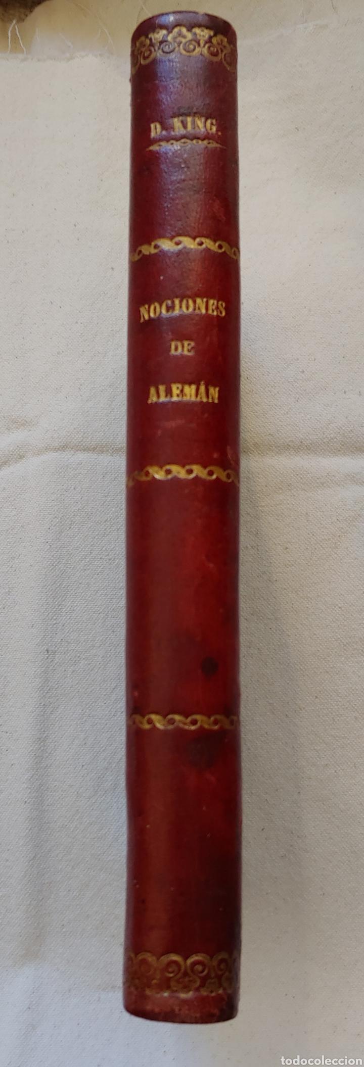 Libros antiguos: Antiguo libro Nociones de alemán curso elemental y práctico - Foto 2 - 217444720