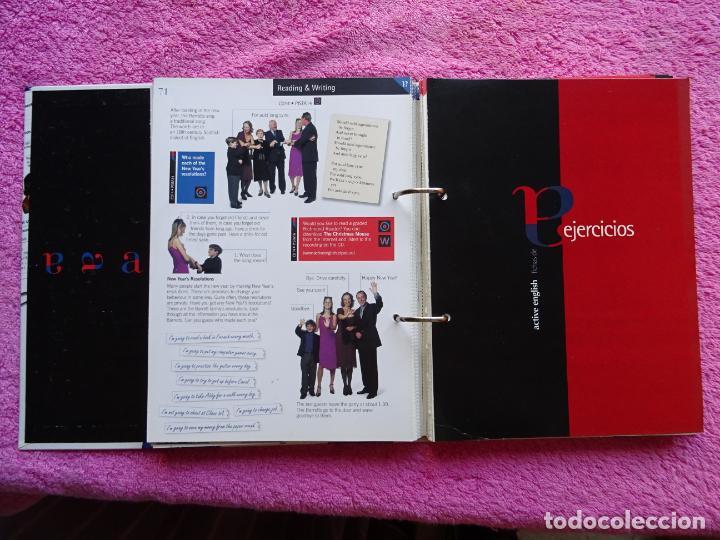 Libros antiguos: active english curso de inglés completo el pais 2000 aguilar libro + 14 cds - Foto 49 - 256007690
