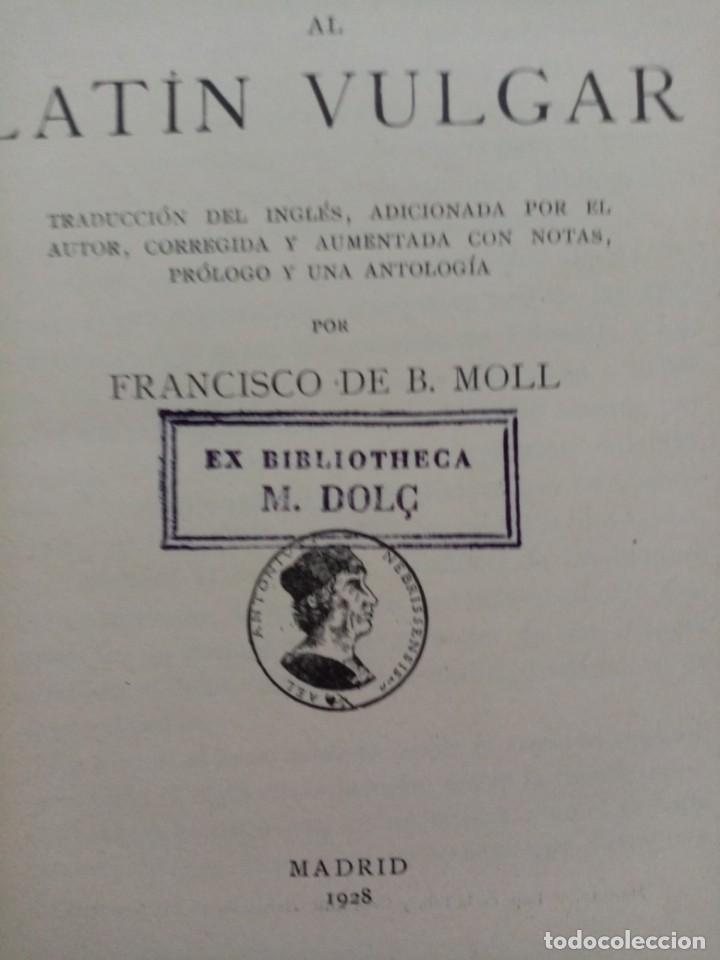 Libros antiguos: LATIN VULGAR C. GRANDGENT AÑO 1928 - Foto 4 - 220577676