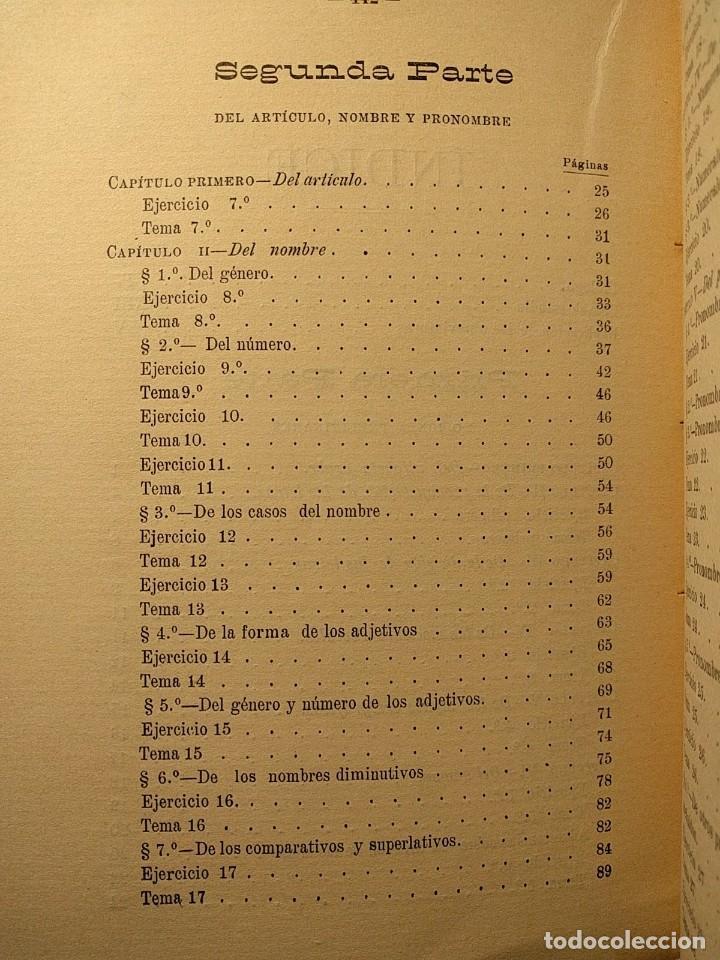 Libros antiguos: Rudimentos del árabe vulgar. Imperio de Marruecos. José Lerchundi. Tánger. 1925. - Foto 5 - 222399228