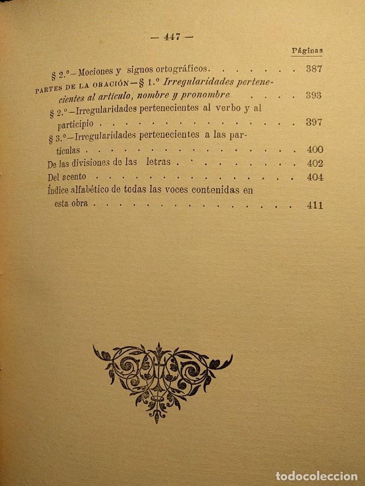 Libros antiguos: Rudimentos del árabe vulgar. Imperio de Marruecos. José Lerchundi. Tánger. 1925. - Foto 10 - 222399228
