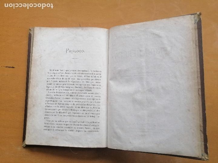 Libros antiguos: Manual práctico de la lengua hebrea por Ramón Manuel Garriga. Narciso Ramírez 1867 - Foto 2 - 222684676