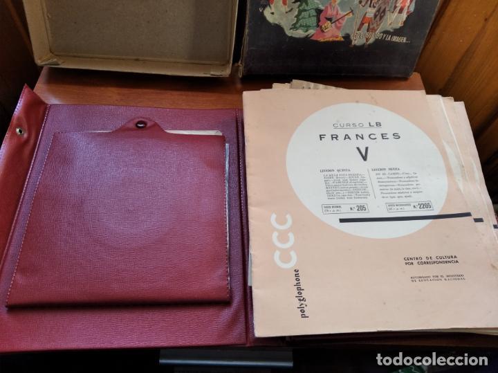 Libros antiguos: CCC - FRANCES I - CURSO DE IDIOMAS, CON FASCICULOS Y VINILOS. - Foto 3 - 224423965