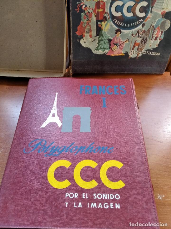 Libros antiguos: CCC - FRANCES I - CURSO DE IDIOMAS, CON FASCICULOS Y VINILOS. - Foto 7 - 224423965
