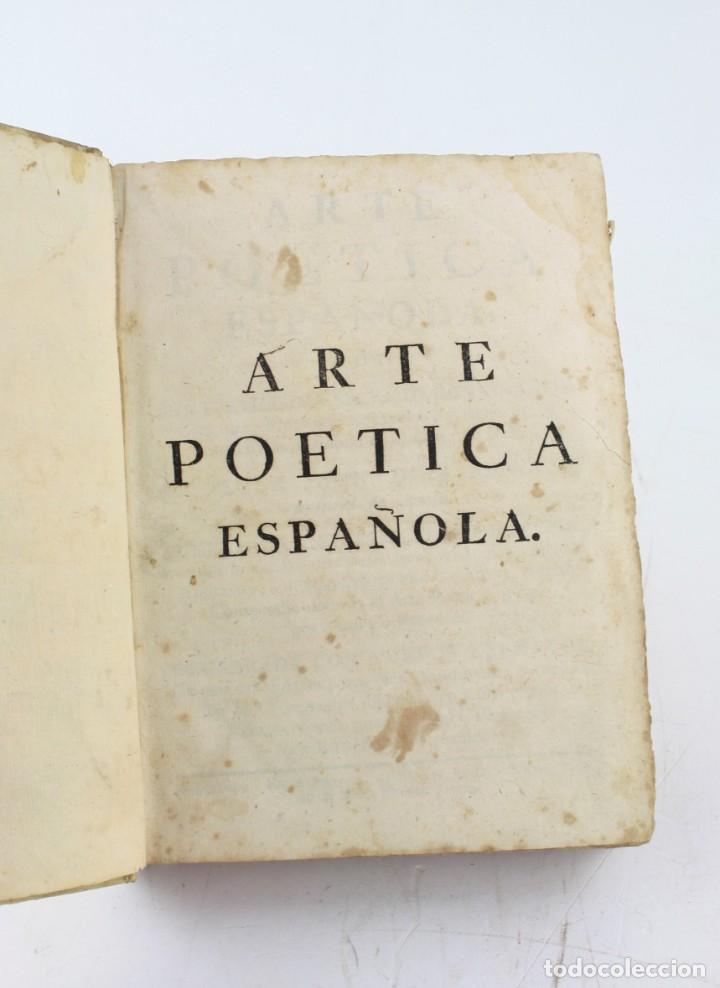 ARTE POÉTICA ESPAÑOLA, JUAN DIAZ RENGIFO, IMP. MARIA ANGELA MARTÍ VIUDA, BARCELONA. 21X16CM (Libros Antiguos, Raros y Curiosos - Cursos de Idiomas)