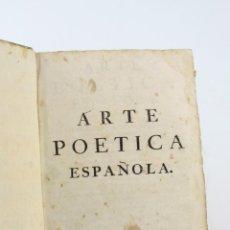 Libros antiguos: ARTE POÉTICA ESPAÑOLA, JUAN DIAZ RENGIFO, IMP. MARIA ANGELA MARTÍ VIUDA, BARCELONA. 21X16CM. Lote 224977120