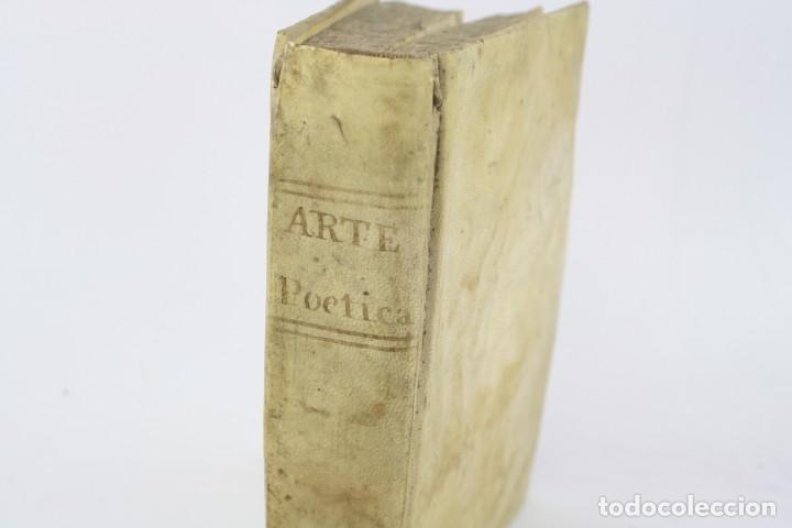 Libros antiguos: Arte poética española, Juan Diaz Rengifo, Imp. Maria Angela Martí viuda, Barcelona. 21x16cm - Foto 3 - 224977120