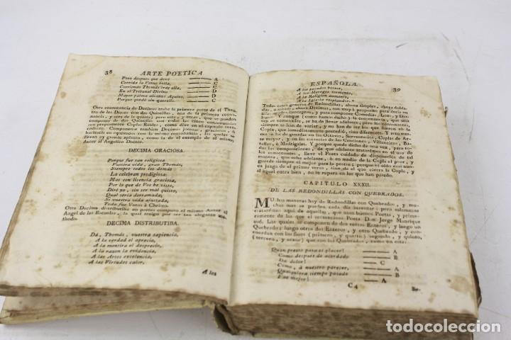 Libros antiguos: Arte poética española, Juan Diaz Rengifo, Imp. Maria Angela Martí viuda, Barcelona. 21x16cm - Foto 8 - 224977120
