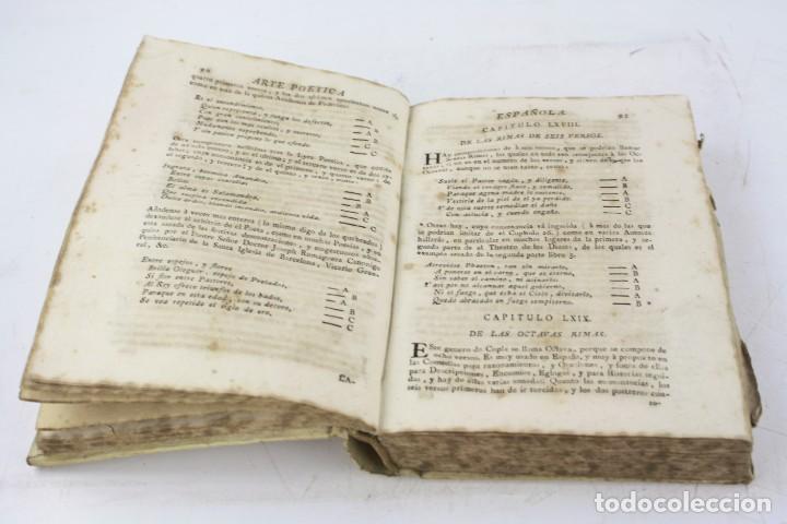 Libros antiguos: Arte poética española, Juan Diaz Rengifo, Imp. Maria Angela Martí viuda, Barcelona. 21x16cm - Foto 9 - 224977120
