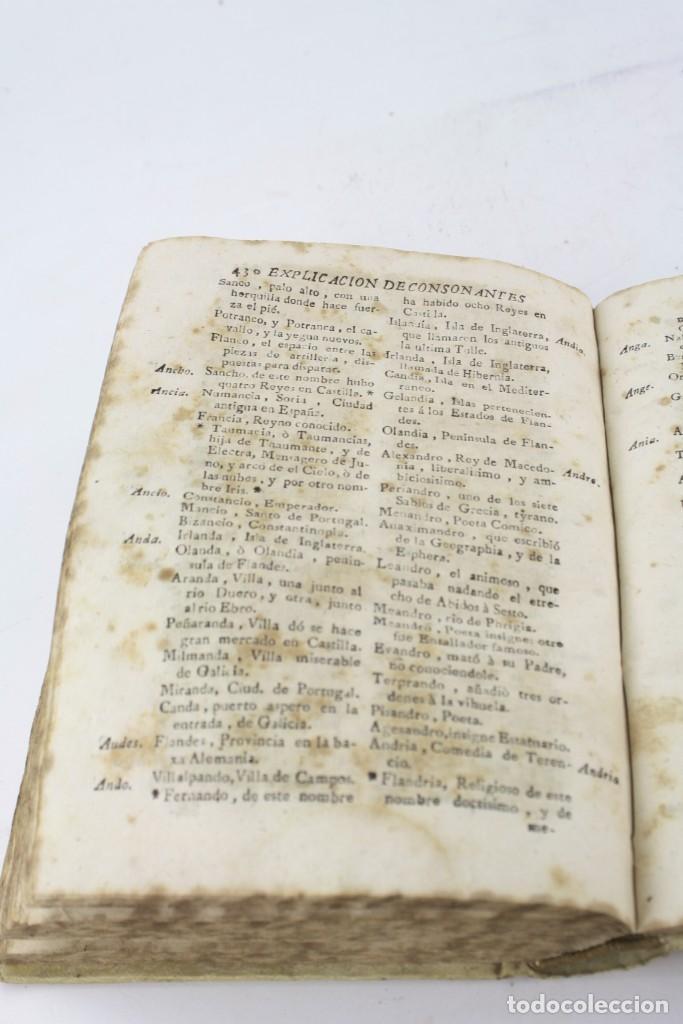 Libros antiguos: Arte poética española, Juan Diaz Rengifo, Imp. Maria Angela Martí viuda, Barcelona. 21x16cm - Foto 12 - 224977120