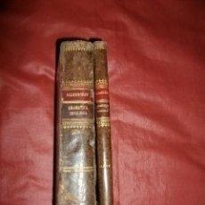 Libros antiguos: OLLENDORF REFORMADO. GRAMÁTICA INGLESA, MÉTODO Y CLAVES PARA APRENDERLA - EDUARDO BENOT (1878). Lote 226001420