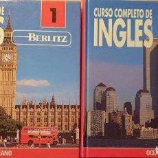 Libros antiguos: CURSO COMPLETO DE INGLES. TOMO 1 Y 2. INCLUYE LOS 14 CASSETES -. Lote 227187414