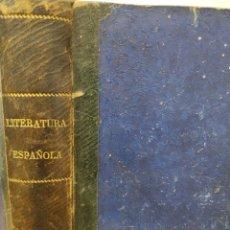 Libros antiguos: 1889. CURSO DE LITERATURA ESPAÑOLA APUNTES -BIOGRAFICOS Y TROZOS SELECTOS JUAN GARCIA AL - DEGUER. Lote 232017510