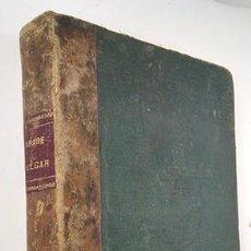 Libros antiguos: RUDIMENTOS DEL ÁRABE VULGAR QUE SE HABLA EN EL IMPERIO DE MARRUECOS. JOSÉ LERCHUNDI. TÁNGER, 1914. Lote 232884830