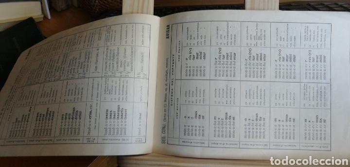 Libros antiguos: Decilnaciones y congugaciones latinas. Folleto escolar sin fecha ni autor( años 50?) 17 pp. 7 cuadr - Foto 3 - 234297185