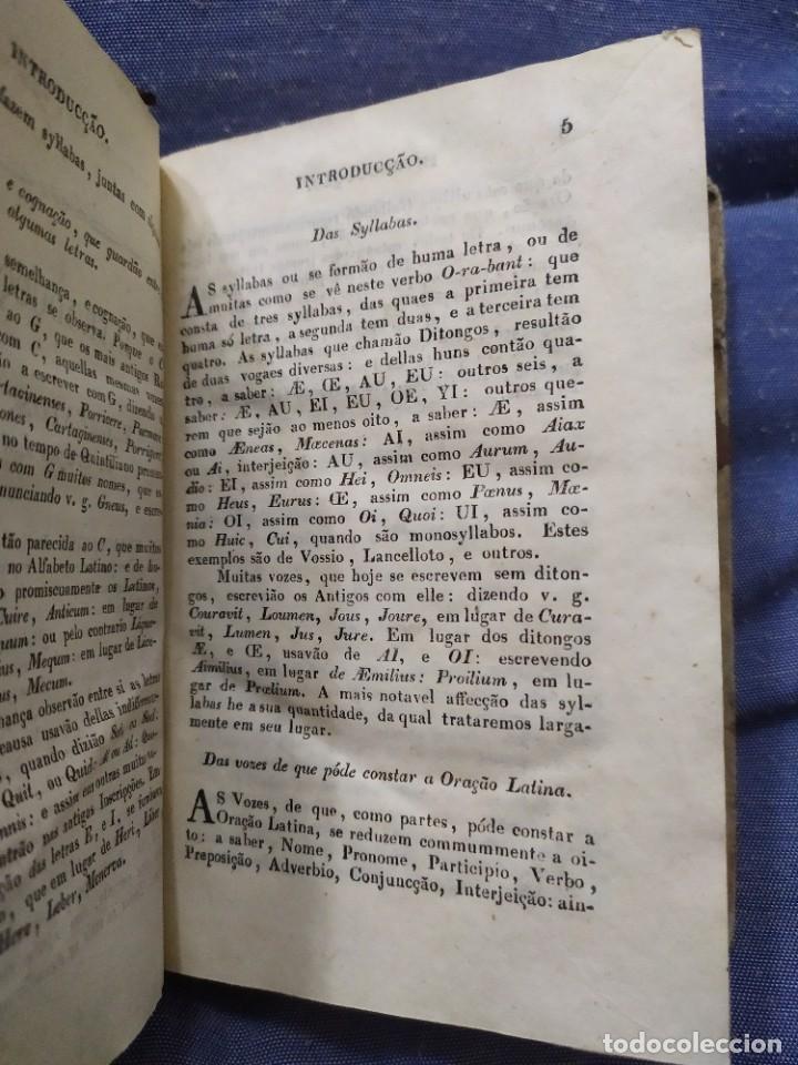 Libros antiguos: 1844. Novo methodo da grammatica latina. Antonio Pereira. - Foto 3 - 235603615