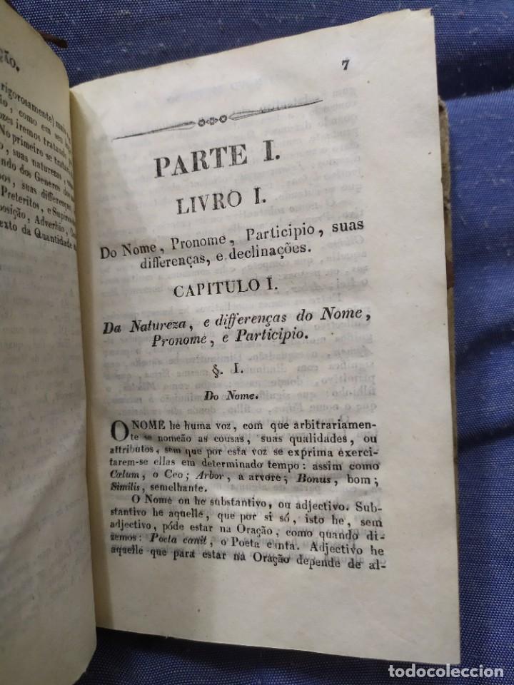 Libros antiguos: 1844. Novo methodo da grammatica latina. Antonio Pereira. - Foto 4 - 235603615
