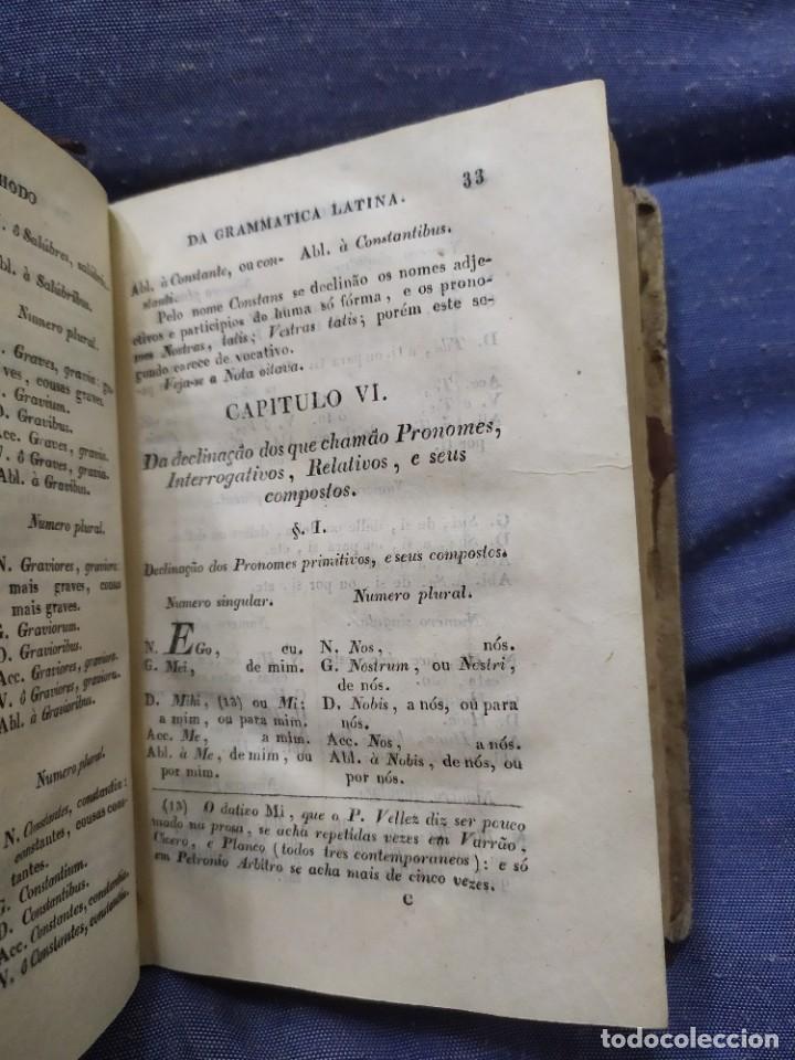 Libros antiguos: 1844. Novo methodo da grammatica latina. Antonio Pereira. - Foto 6 - 235603615