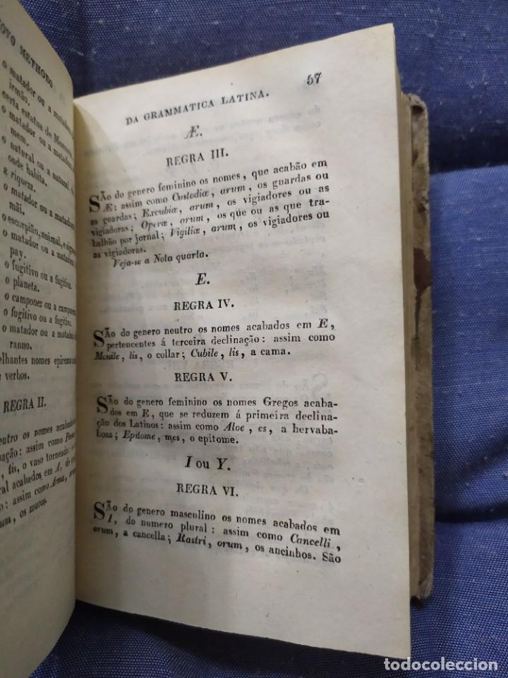 Libros antiguos: 1844. Novo methodo da grammatica latina. Antonio Pereira. - Foto 8 - 235603615