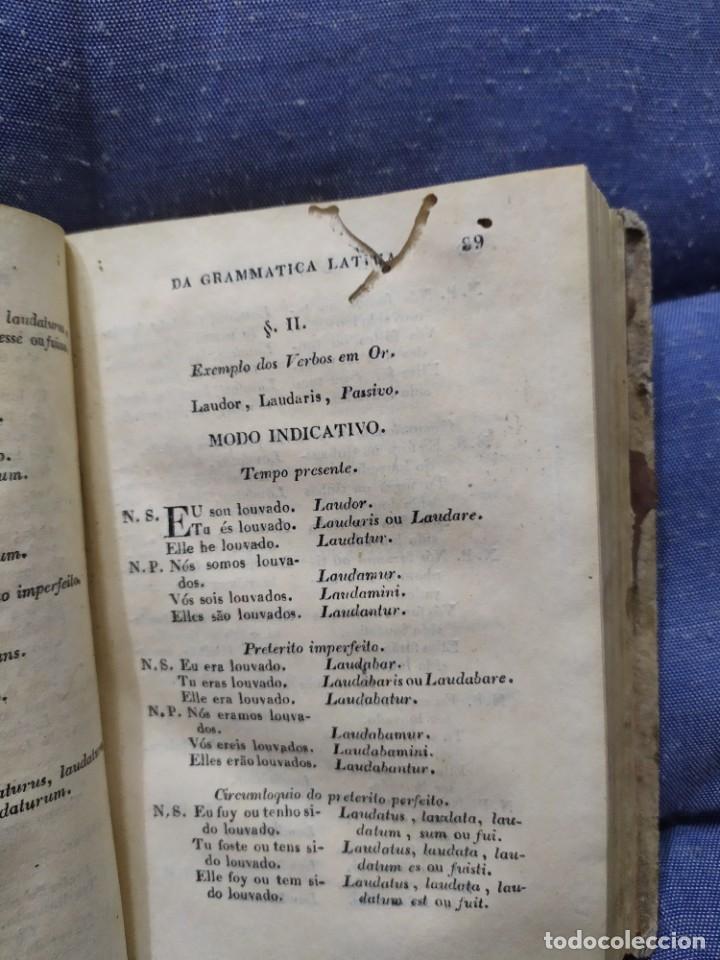Libros antiguos: 1844. Novo methodo da grammatica latina. Antonio Pereira. - Foto 9 - 235603615