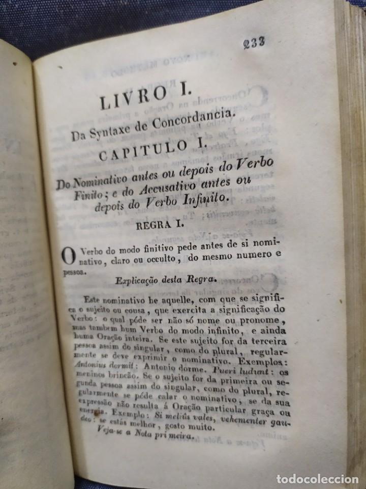 Libros antiguos: 1844. Novo methodo da grammatica latina. Antonio Pereira. - Foto 11 - 235603615
