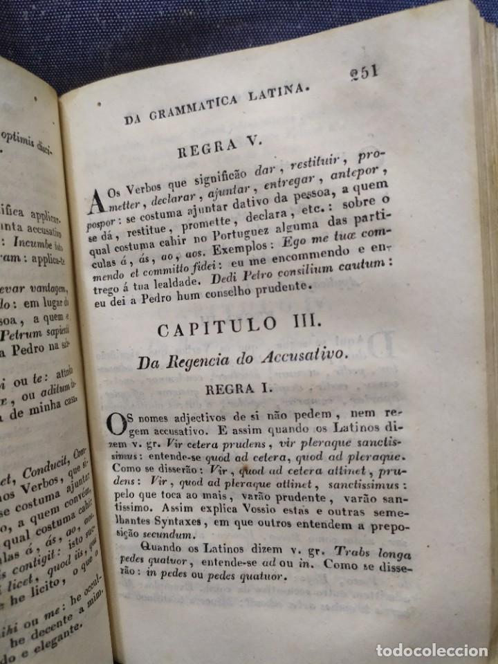 Libros antiguos: 1844. Novo methodo da grammatica latina. Antonio Pereira. - Foto 12 - 235603615