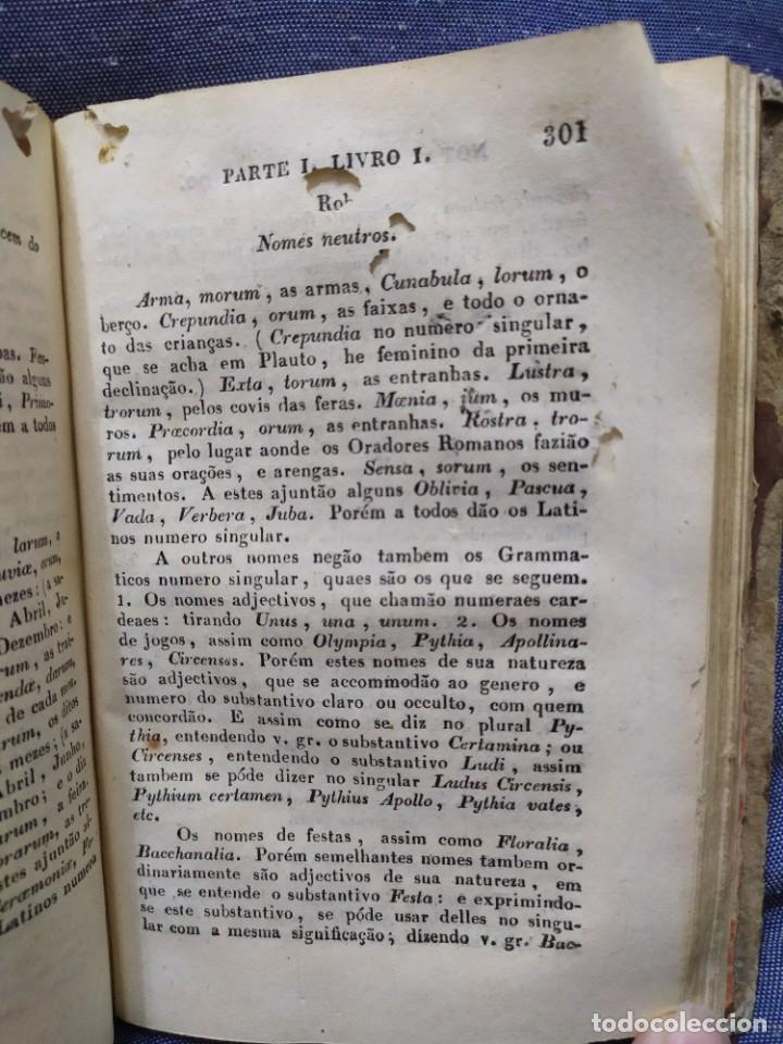 Libros antiguos: 1844. Novo methodo da grammatica latina. Antonio Pereira. - Foto 14 - 235603615