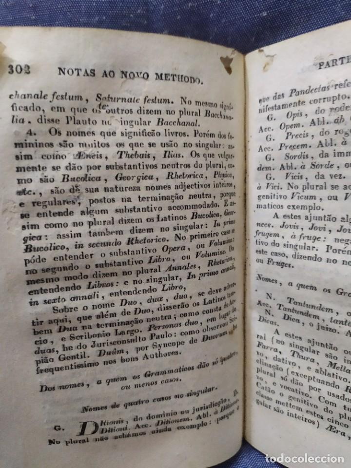 Libros antiguos: 1844. Novo methodo da grammatica latina. Antonio Pereira. - Foto 15 - 235603615