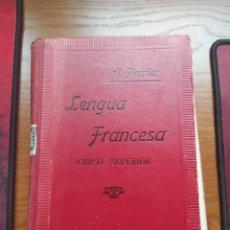 Libros antiguos: ALPHONSE PERRIER. LENGUA FRANCESA: CURSO SUPERIOR. NUEVA EDICIÓN, 1927.. Lote 237515135