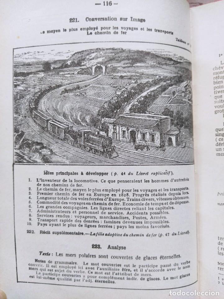 Libros antiguos: Alphonse Perrier. Lengua Francesa: Curso Superior. Nueva Edición, 1927. - Foto 5 - 237515135