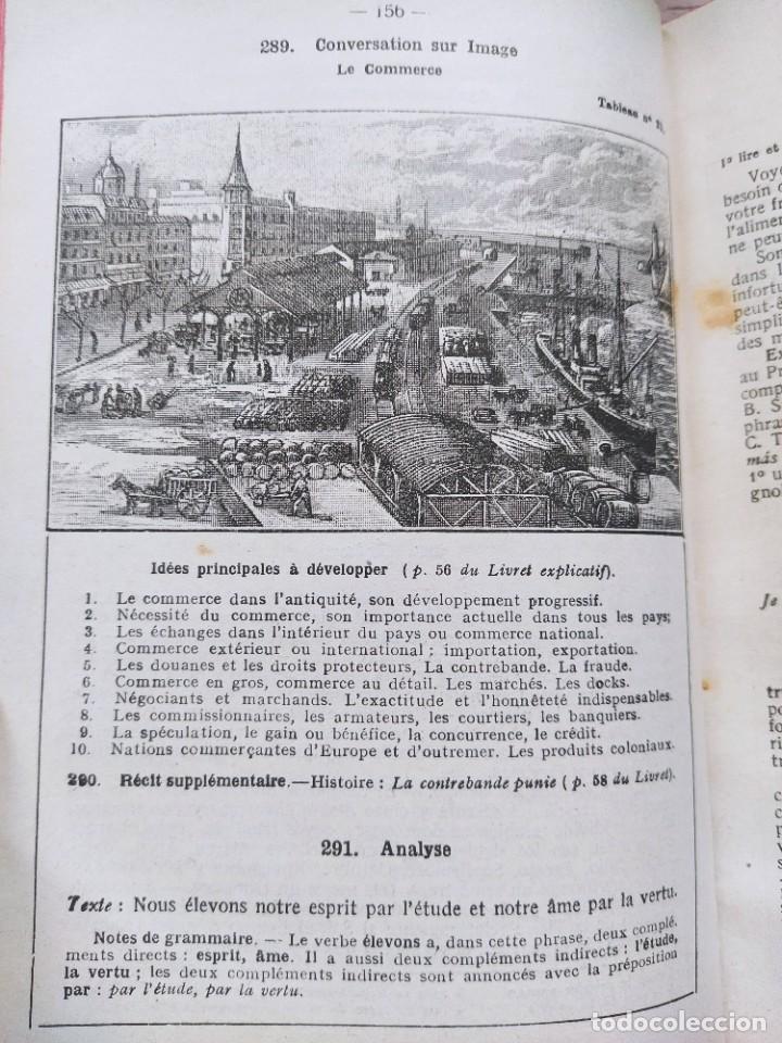 Libros antiguos: Alphonse Perrier. Lengua Francesa: Curso Superior. Nueva Edición, 1927. - Foto 6 - 237515135