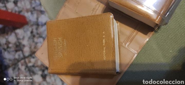 Libros antiguos: Miniatura, diccionario español inglés - Foto 4 - 240091710