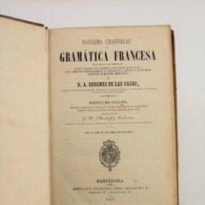 Libros antiguos: NOVÍSIMO CHANTREAU O GRAMÁTICA FRANCESA, 1867, BERGNES DE LAS CASAS, BARCELONA. 21,5X15CM. Lote 243790600