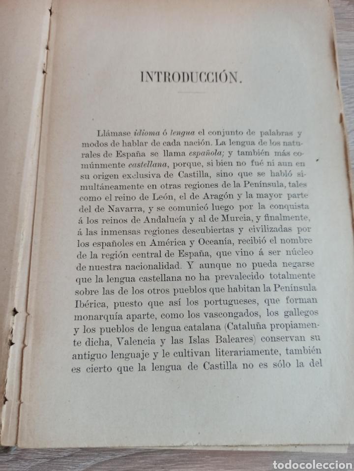 Libros antiguos: Academia Española Gramática de la Lengua Castellana Nueva Edición 1900 - Foto 5 - 244722780