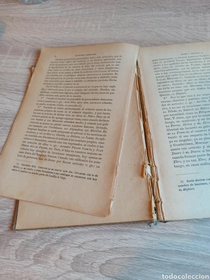 Libros antiguos: Academia Española Gramática de la Lengua Castellana Nueva Edición 1900 - Foto 6 - 244722780